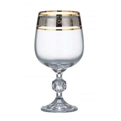 Poháre Klaud Dekor Glass 230 ml set 6 kusov