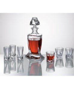 Set Quad Liqueur 1 + 6 pohárov
