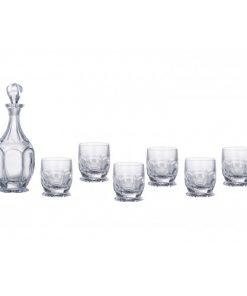 Set Saf Whisky 1 + 6 pohárov
