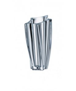 Krištáľová váza Yok Vase 25,5 cm