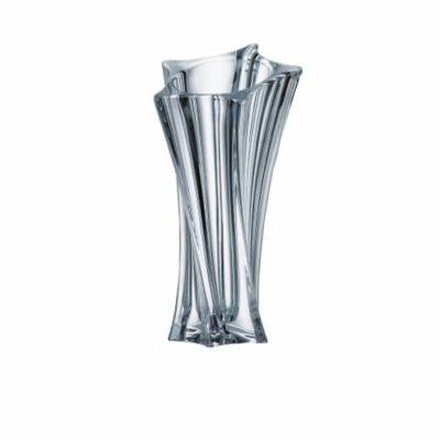 Krištáľová váza Yok Vase 28 cm