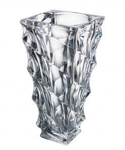 Krištáľová váza Casa vase 30 cm