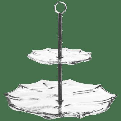 Miska Calyp two tier plate 33 cm