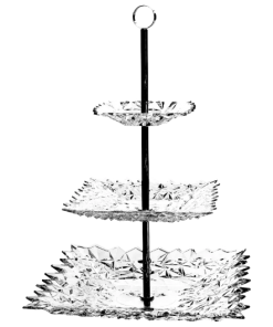 Miska Gla tree tier plate 30,5 cm