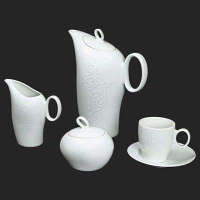 Kávová súprava pre 6 osôb Futuorna ornament