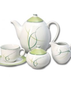 Kávová súprava pre 6 osôb Opalnea tráva