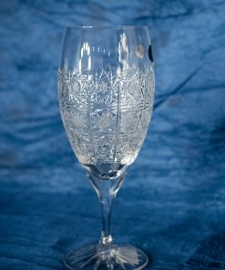 Krištálové brúsené poháre 400 ml set 6 kusov