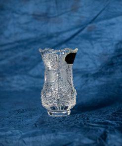 Krištáľová brúsená váza 10 cm