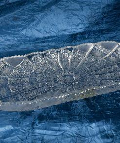 Krištálová brúsená miska 35 cm