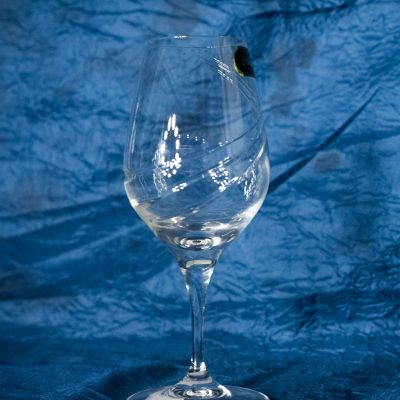 Krištálové brúsené poháre 270 ml set 6 kusov