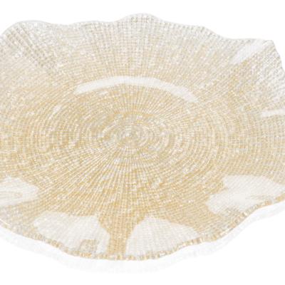 Tanier FOL zlatý glitter D37 cm