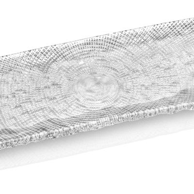 Podnos DIAMAN číry 43 x 13 cm H1,5 cm