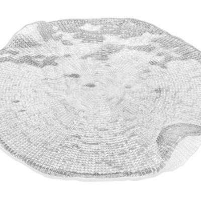 Tanier na syr DIAMAN číry D32 cm H2,5 cm
