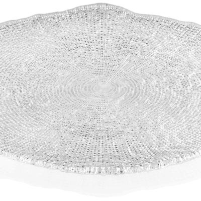 Tanier DIAMAN číry D34 cm H1,7 cm