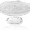 Podnos na tortu DIAMAN číry D25 cm H11 cm
