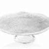 Podnos na tortu DIAMAN číry D32 cm H11,5 cm