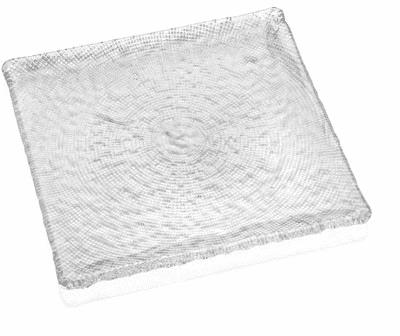 Tanier DIAMAN číry 16 x 16 cm H1,5 cm