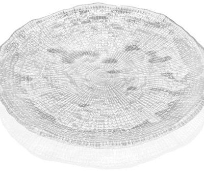 Tanier DIAMAN číry D15 cm H1,7 cm