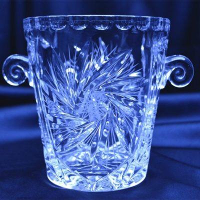 Krištáľová nádoba na ľad 11,5 cm