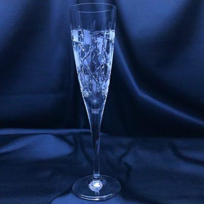 Krištálové brúsené poháre 200 ml set 6 kusov