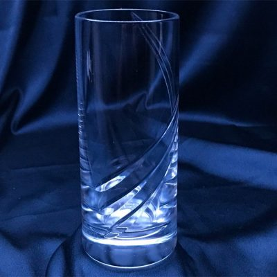 Krištálové brúsené poháre 300 ml set 6 kusov