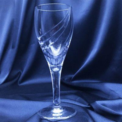 Krištálové brúsené poháre 70 ml set 6 kusov