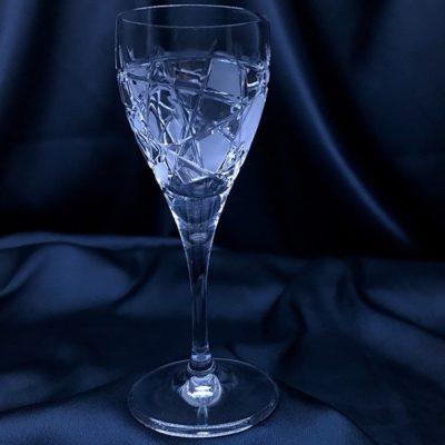 Krištálové brúsené poháre 60 ml set 6 kusov