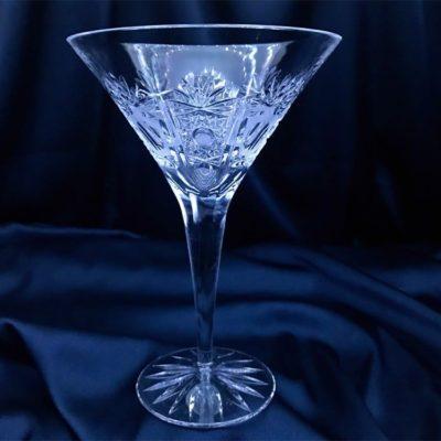 Krištálové brúsené poháre 250 ml set 6 kusov