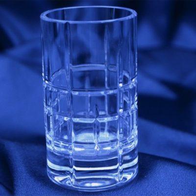Krištálové brúsené poháre 100 ml set 6 kusov