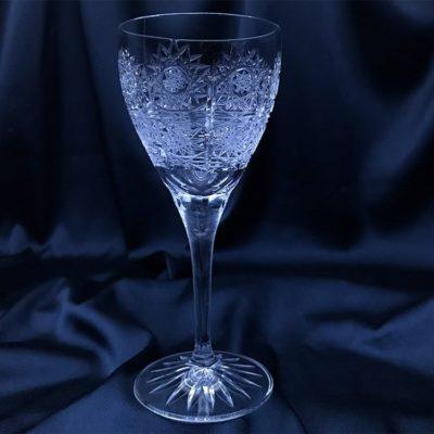 Krištálové brúsené poháre 180 ml set 6 kusov