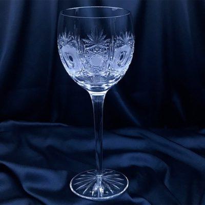 Krištálové brúsené poháre 450 ml set 6 kusov