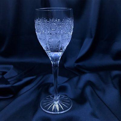 Krištálové brúsené poháre 150 ml set 6 kusov