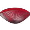 Misa BURA červená s ryhovaním L27 cm